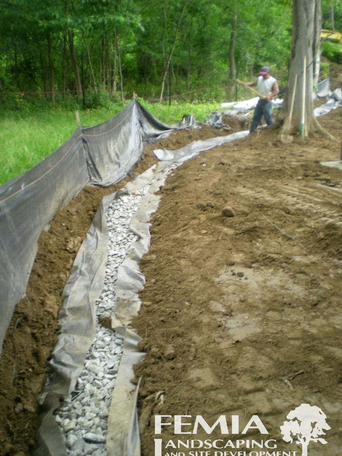 Home Drainage Systems & Waterproofing | Femia Landscaping ...