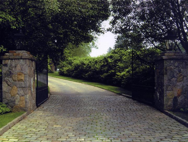 Belgian Block Entrances Aprons Femia Landscaping