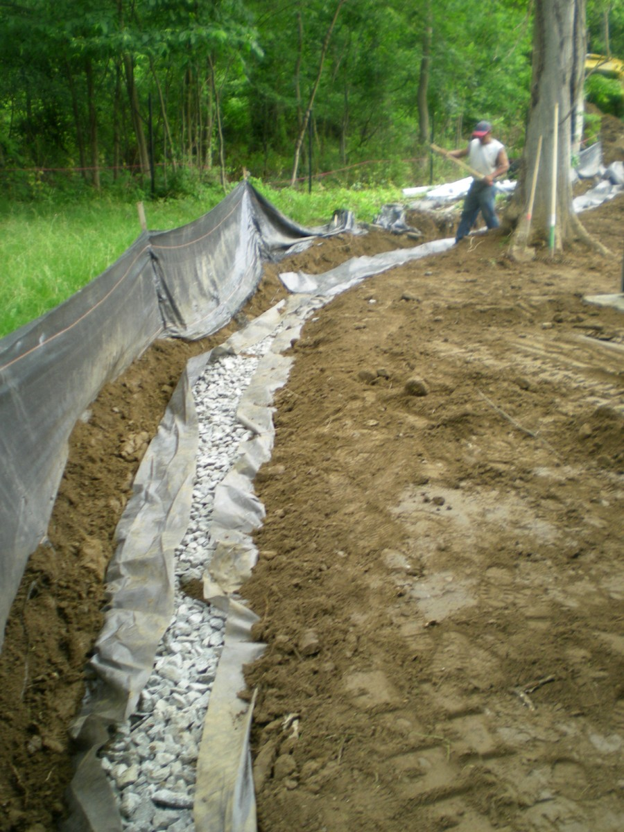 Home Drainage Systems & Waterproofing   Femia Landscaping ... on Landscape Drainage Design  id=56803