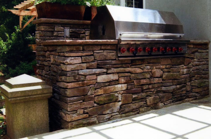 Custom Built Grills Outdoor Kitchens Femia Landscaping